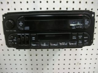 Radio Cassette Am FM Receiver CH Player Chrysler Dodge Plymouth 4858540AH