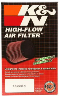 K N Universal Air Filter RU 1810 Oval Rubber