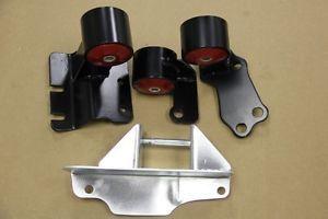 Engine Swap JDM Solid Motor Mount 500HP Polyurethane Civic CRX 88 91 H22 H23 EF9