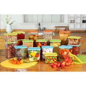 Hyundai Hmall Sunrise Food Containers Block Refrigerator Storage 18 Pcs 18 Free