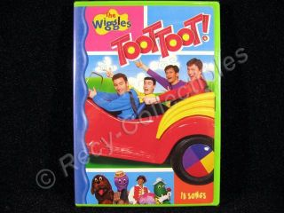 The Wiggles DVD TOOT TOOT 18 Songs New SEALED