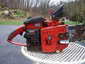 Homelite Super XL Auto 58cc 10045C Homelite Chain Saw Runs Well