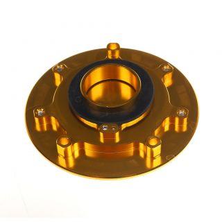 Kawasaki zx6r ZX10R ZX14R Ninja 06 10 CNC Billet Fuel Tank Gas Cap Keyless Gold