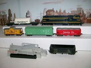 American Flyer HO No 31022 C O Alco DL 600 Diesel Engine Freight Car Set