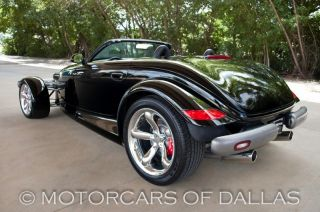 1999 Plymouth Prowler Convertible Chrome Wheels Clean Carfax Ready for Summer