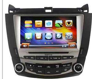 Koolertron Multimedia System Car DVD GPS Navigation Autoradio for Honda Accord