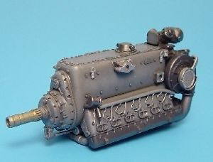 Aires 2007 1 32 Daimler Benz DB605A B German WWII Engine Resin