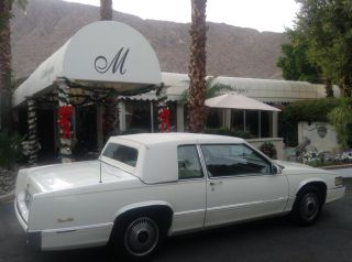 Beautiful 1989 Cadillac Coupe DeVille One Owner All Original Rolls Royce Grille