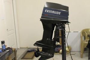1986 Evinrude 60 HP Outboard Boat Motor TNT Serviced Engine Johnson OMC