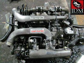 86 91 Toyota Supra ma70 Twin Turbo Engine Trans Harness ECU JDM 1GGTE 1g GTE