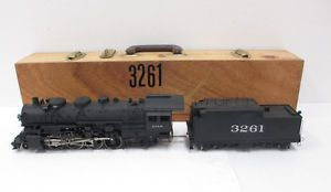 Samhongsa O Scale 2 Rail Brass ATSF 2 8 2 Steam Locomotive Tender Custom Pain