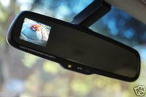 Factory Toyota Tundra Auto Dim Rear View Mirror Backup Camera Display RCD