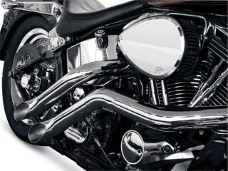 La Choppers Custom Exhaust Lazer Harley FLST FXST 86 11