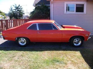 1971 Chevy Nova Pro Street 406 Small Block Automatic Roll Cage Washington