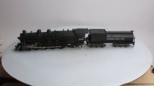 KTM O Scale 2 Rail Brass Southern Pacific 4 8 2 Steam Locomotive Tender