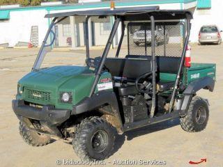 2011 Kawasaki Mule 4010 ATV UTV 4x4 Crew Utility Cart 617cc Gas Engine TRANS4X4