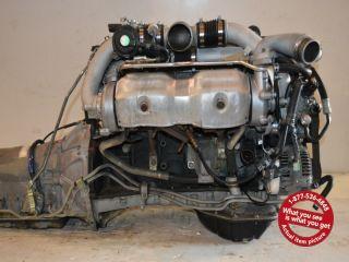 JDM Toyota Chaser 1jzgte Twin Turbo Engine Auto Trans Wiring ECU 1JZ GTE Motor