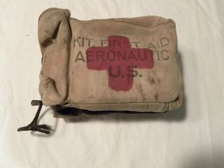 US Army WWII Kit First Aid Aeronatic US Var Bandages WWII Korea