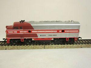 "Vintage Mantua HO Scale Toy Train Engine "" The Rocket "" Rock Island 623"