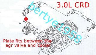 EGR Valve Blanking Plate Nissan Navara Patrol Pathfinder ect D22