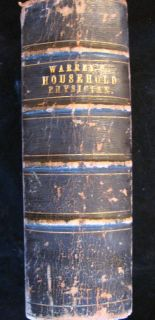 RARE 1864 Civil War Medical Book on Surgery Medicine Homoeopathy Bandages