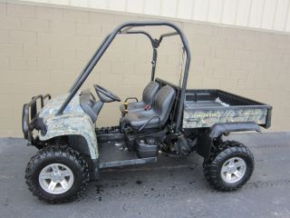 2008 John Deere Camo 620i 4x4 Gator 4WD Gas Engine Dump Bed Utility Vehicle