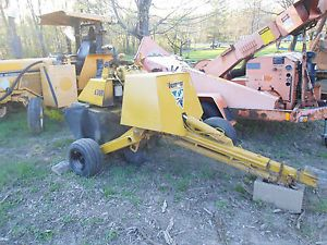 Vermeer Stump Grinder 630 B 630B Wisconsin Engine Compact Towable 35 Horse