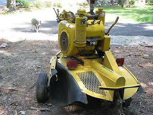 Vermeer 630 Stump Grinder 30 HP Wisconsin Engine Very Good Shape
