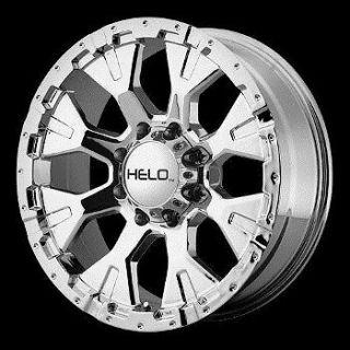 20 inch Chrome Wheels Rims Chevy GMC Dodge 2500 3500 8 Lug Trucks Hummer H2 Helo