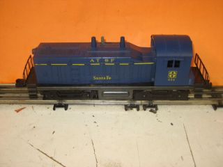 Lionel 634 Diesel Switcher ATSF Sante FE Engine Train O