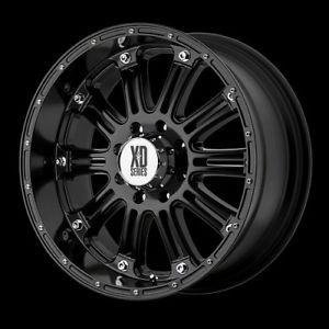 """18"""" XD Hoss Gloss Black Wheels Rims 305 60R18 Nitto Terra Grappler at Tires"""