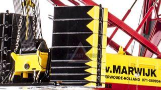 Liebherr LR1300 Lattice Boom Crawler Crane and Derrick Set Felbermayr NZG