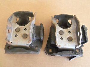 6 Cylinder Engine Motor Mount Frame Brackets 67 72 Chevy GMC Truck 2WD