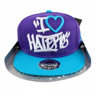 State Property I Love Haters Flat Peak Baseball Hip Hop Is Snapback Cap Money