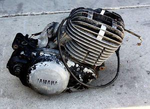 1978 Yamaha YZ400 Engine Motor Parts Cylinder Complete Piston Head Case