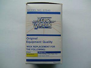 Perfection No 500 Kerosene Heater Wick Fits Most Portable Smokeless Oil Heaters