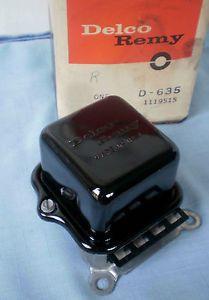 Vintage 1963 1969 Chevrolet Corvette External Voltage Regulator 1119515
