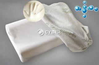 30x50 Bamboo Fiber Slow Rebound Memory Foam Pillow Cervical Health Care DZ88