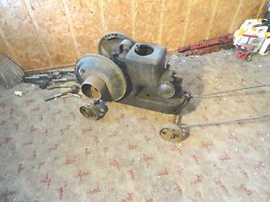 Fairbanks Morse Z 2HP Dishpan Hit Miss Gas Engine with Magneto Cart Barn Fresh