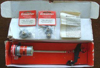Vintage Graupner Hydrospeed 7022 Model Boat Engine