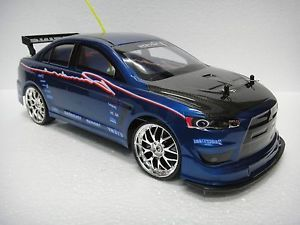 1 10 RC Drift Car 4WD Remote Control EVO x Turbo Function Free Extra Battery