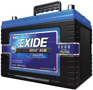 New Exide Edge FP AGM51 AGM Maintenance Free Automotive Battery