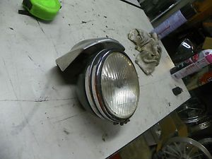 70's Harley Ironhead Sportster Shovelhead FX Headlight Visor Assembly