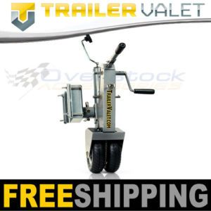 Trailer Valet Truck Tow Hitch Dolly Swival Jack and Trailer Mover 9000