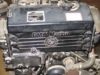 Mercruiser Diesel Engine 636 D TA BMW D636 Short Block Assembly