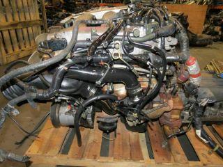 90 96 Nissan 300zx VG30DETT Twin Turbo Engine JDM Fairlady Z32 VG30 A T ECU