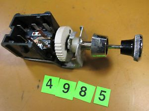 1980 Ford Mustang Headlight Switch Assembly