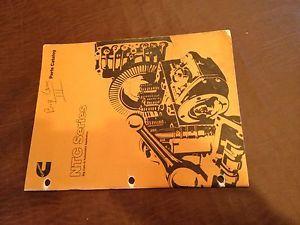 Cummins NTC Big Cam III Parts Book Catalog Manual Engine 1982
