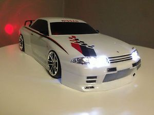 Custom Build 1 10 Remote Control Drift Car RTR RC w Battery Charger Nissan R34