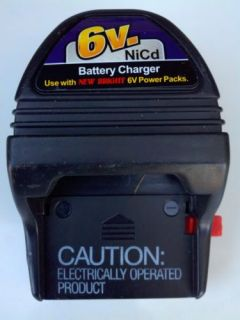 New Bright 6V NiCd RC Toys Vehicles Cars 6 Volt Battery Pack Wall Charger